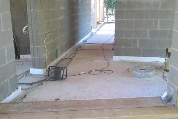 Eramaja Ihastes - uusehitis elektripaigaldustööd