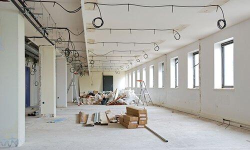 Tööstushoone elektri ja valgustus lahendus Tartu lähedal