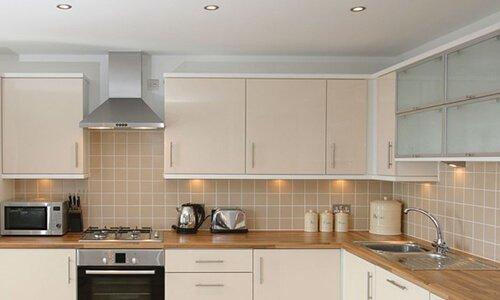 Valgustuse ja koduseadmete elektritööd köögis